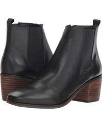 c2560f26145 Lyst - Lucky Brand Yahir Wedge Bootie in Black