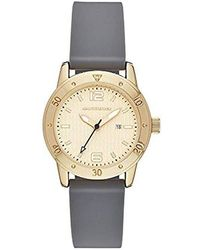 Skechers - 'redondo' Quartz Metal And Silicone Casual Watch, Color:gold-toned (model: Sr6171) - Lyst