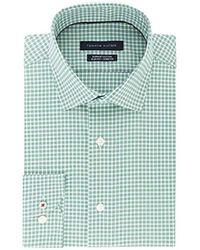 Tommy Hilfiger - Dress Shirt Stretch Slim Fit Checks - Lyst