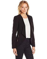 Calvin Klein - Open-front Four-zipper Jacket - Lyst
