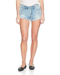 Lucky Brand - Mid Rise Cut Off Short In Reyes - Lyst