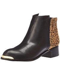 N.y.l.a. - Melrose Ankle Bootie - Lyst