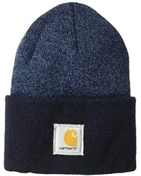 fa48cdb2712 Lyst - Carhartt Acrylic Watch Hat (for Men) in Blue for Men
