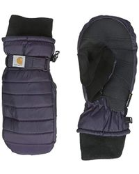 Carhartt - Quilts Insulated Breathable Mitt With Waterproof Wicking Insert - Lyst