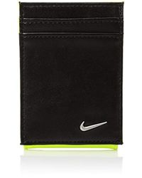 Nike - Blocked Front Pocket Wallet W/magnetic Money Clip - Lyst