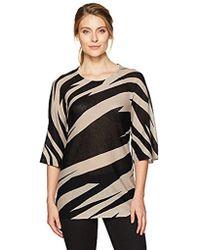 Kasper - Pullover Printed Sweater - Lyst