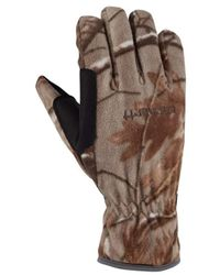 Carhartt - Fleece Work And Hunting Glove - Lyst