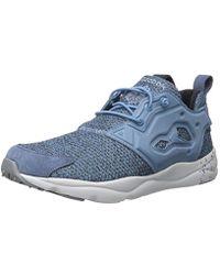 Lyst - Reebok Furylite Gw Fashion Sneaker in Blue for Men 6afcc4182b