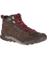 Merrell - Annex Trak Mid Waterproof Hiking Boot - Lyst