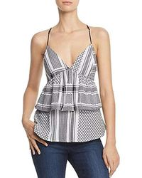 Guess - S Camisole Ruffle Dress Top - Lyst