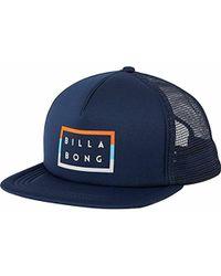 Billabong - Diecut Trucker Hat - Lyst