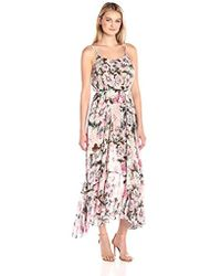 Plenty by Tracy Reese - Flounce Hem Maxi Dress - Lyst
