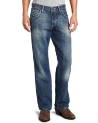 Wrangler - Tall Retro Mid Rise Relaxed Fit Boot Cut Jean - Lyst