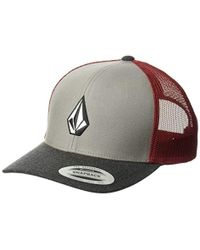 buy online 2f0ff 8f3f3 Volcom Full Frontal Cheese Hat - Amber Rock - O s in Blue for Men - Lyst
