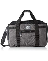 Superdry - Travel Range Weekender, 's Backpack, Black (black Marl), 53x32x32 Cm (w X H L) - Lyst