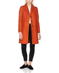 French Connection - Platform Felt L/s Smart Fit Coat - Lyst