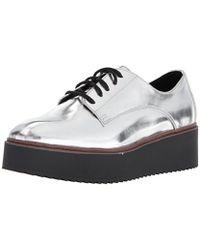 Madden Girl - Written Loafer Flat - Lyst