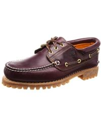 Timberland - Trad HS 3 Eye Lug, Chaussures Basses Homme - Lyst