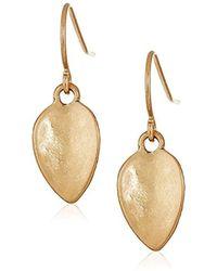 The Sak - Small Petal Drop Earrings - Lyst
