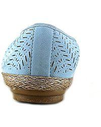 Easy Spirit - E360 Gannet Women Us 8 Blue Flats - Lyst