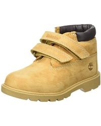 620a5535e2505a Timberland - Unisex Babies  Double Strap H l Chukkawheat Nubuck Walking  Shoes
