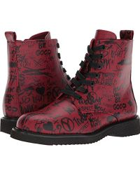 ALDO - Cadirwen Combat Boot, Red Miscellaneous, 8.5 B Us - Lyst
