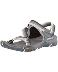 Merrell - All Out Blaze Web Hiking Sandals - Lyst