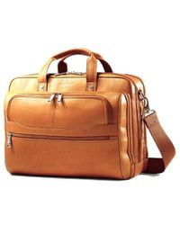 Samsonite - Colombian Leather 2 Pocket Business Case - Lyst