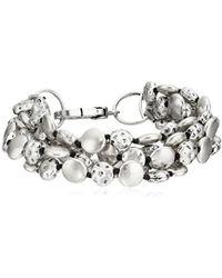 Lucky Brand - S Coin Bracelet - Lyst