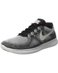 0744f5da72bb4 Nike Free Run Rn Women s Running Trainers In Multicolour in Gray - Lyst
