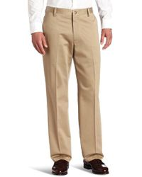 Dockers - Never-iron Essential Straight-fit Flat-front Pant D2 - Lyst