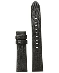 Michael Kors - Access Sofie Embossed Leather Watch Strap - Lyst