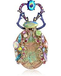 Betsey Johnson - S Colorful Insect Pin - Lyst