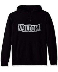Volcom - Supply Stone Pullover Hoodie - Lyst