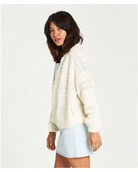 Billabong - Just Fur You Sweater - Lyst