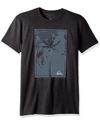 Quiksilver - Palm Shock Tee - Lyst