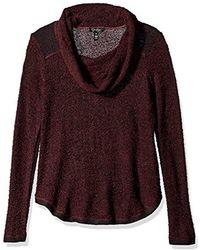 Jessica Simpson - Rocha Funnel Neck Sweater-red Velvet - Lyst