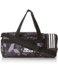 adidas - 3S CVRT DUF WGS, Zaino Unisex-Adulto, Nero (Negro Blanco), 24x15x45 centimeters (W x H x L) - Lyst