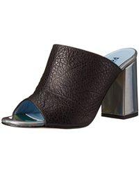 Studio Pollini - Chunky Heel Slide Dress Sandal - Lyst