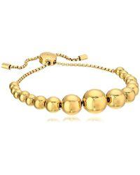 Michael Kors - Beaded Adjustable Bangle Bracelet - Lyst