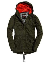 Superdry - New Rookie Military Parka - Lyst