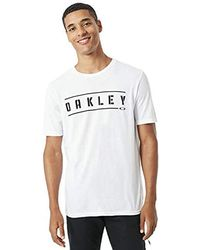 Oakley - O-double Stack Tee T-shirt Black - Lyst