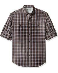 G.H. Bass & Co. - Explorer Survivor Point Collar Long Sleeve Fishing Shirt - Lyst