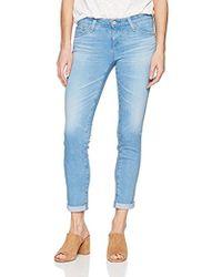 AG Jeans - The Stilt Roll Up Jean - Lyst