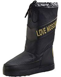 Love Moschino - Logo Moon Boot - Lyst