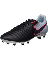 7cf4a8402092 Nike Tiempo Legacy Ii Fg Men's Shoes (trainers) In Black in Black ...