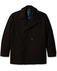 Nautica - Big And Tall Wool Peacoat - Lyst