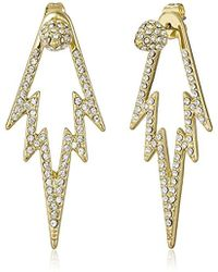 CC SKYE - The Crystal Pop Double Sided Drop Earrings - Lyst