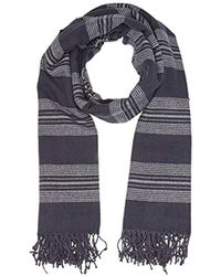 Levi's - Seasonal Stripe Wrap Shawl, Blue (navy Blue), One Size (manufacturer Size: Un) - Lyst