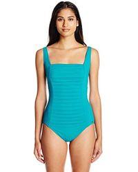 4353577627 Mikoh Swimwear Laniakea Pleated Bandeau Bikini Top in White - Lyst